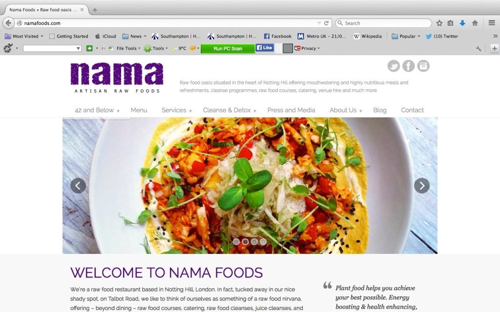 Nama Raw Foods
