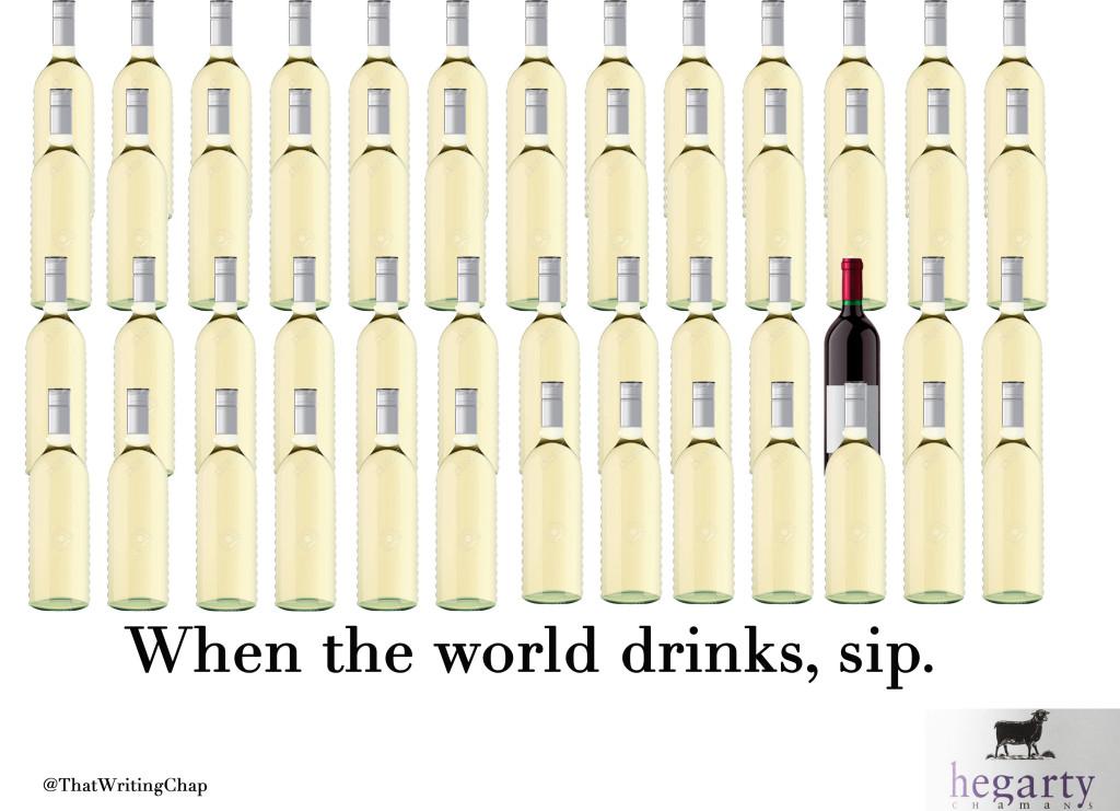 Sir John Hegarty: Chaman Wine