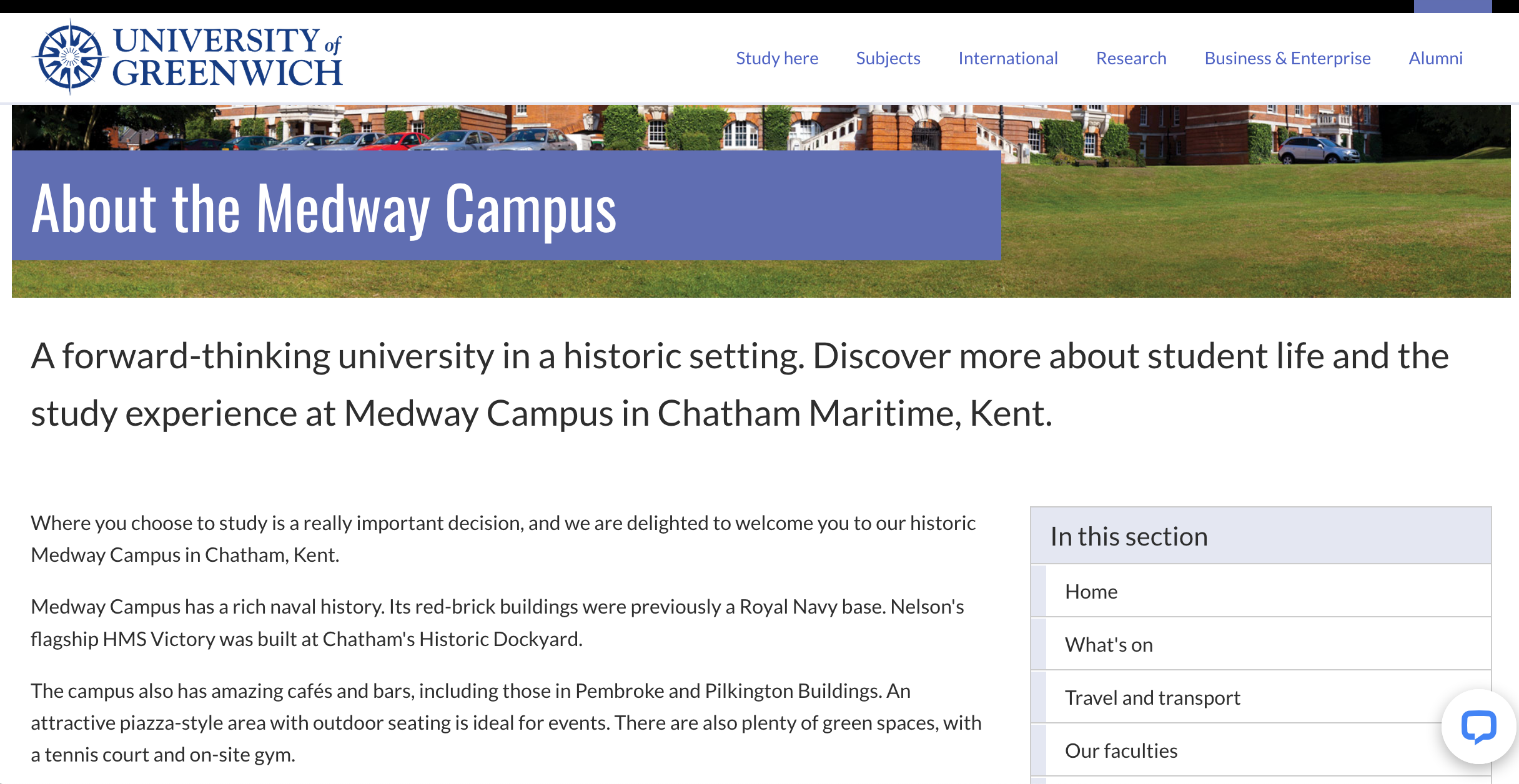 Medway Campus